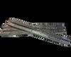 Each bar measures 13 3/4  x 3/4 x 3/8 thick.