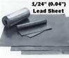 """(2.5#) Sheet Lead 1/24""""  1' x 2'"""
