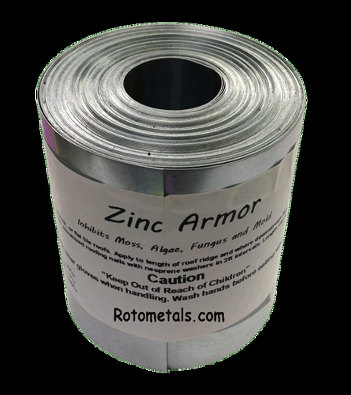"ZincArmor 3"" Zinc Strip 50 ft Prevent Algae Moss Fungus & Mildew"