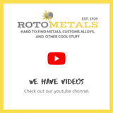 Rotometals on Youtube