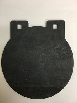 "AR500 Steel Targets  3/8"" x 8"" Round For precision practice"