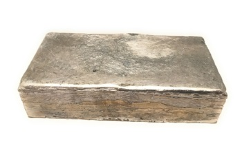 "Lead Cast Brick Ballast Counterweights   2"" x 4"" x 8"""