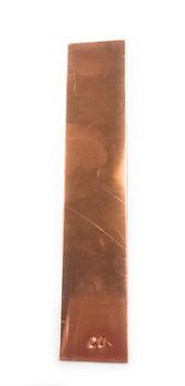 Ajax Scientific Copper Electrode Strip, 132mm Length x 25mm Width