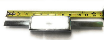 "ZSS-2.8 Zinc Anode 1"" x 2"" x 5""~   with  12"" Strap - Rope Guard Anode"