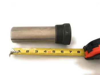 """Magnesium Pencil Anode 2"""" NPT X 5"""""""