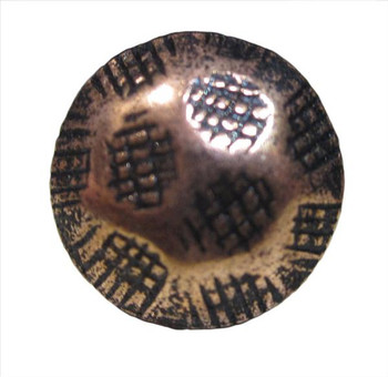 "HC912 - Hammered Copper Ren Head Size:7/16"" Nail Length:1/2"" - 1000 per box"