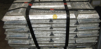 Bundle of Zinc Ingots (99.99%) SHG 1000 Pounds $1.79 LBS