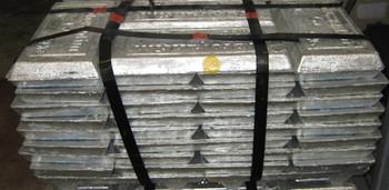 Bundle of Zinc Ingots (99.99%) SHG 1000 Pounds