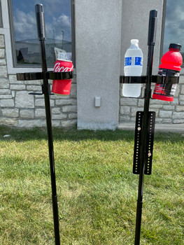 Sword Like Strong Corn Hole / Drink Holder Score Board - Made in USA
