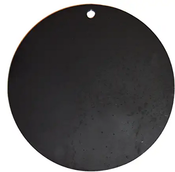 """High Caliber AR500 Steel 1/4"""" Thick Targets - for Precision Practice(3"""" Target - 1 Count, Circle)"""