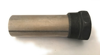 """Magnesium Pencil Anode 2"""" NPT X 10"""" Overall  8"""" mag rod"""