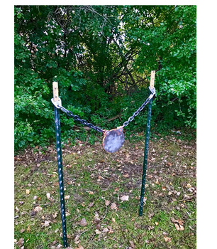 Shoot Steel Fence Post Hanger - Set of Two