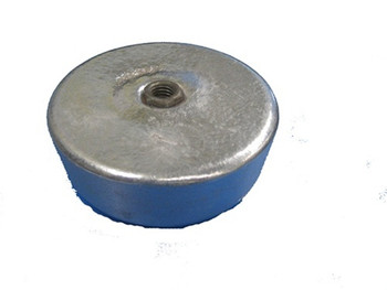 2.5 lb Screw On Crab/Lobster Pot Aluminum Anode