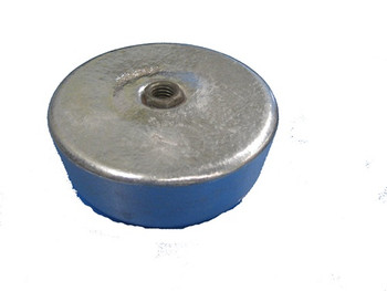 6 lb Screw On Crab/Lobster Pot Zinc Anode