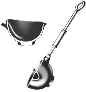 "Casting Ladle Bottom-pour Rowell #4 - 4"" Bowl Diameter, 16"" Handle Length"