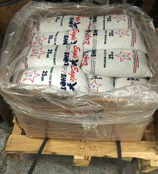 40 Bags (1000 lbs)  Magnum Lead Shot with Freight Included