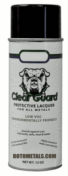 Sealer Clear Guard Lacquer for Zinc - For Vertical Surfaces Only!