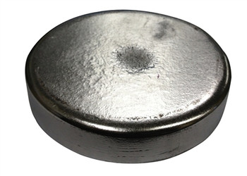 "Zinc Disc 10"" Diameter x 1"" Thick"