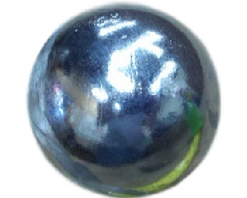 "2.59"" Zinc Cannon Ball Pop Can Mortar"