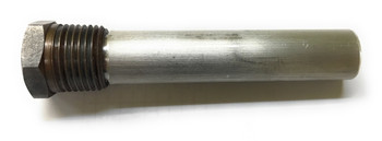 "Magnesium Pencil Anode 1/2"" NPT x 6"" Long"