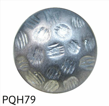 "PQH79 - Hammered Antique Pewter Nail/Clavos Head  - Head Size: 13/16"" Nail Length: 5/8"" - 250 per box"