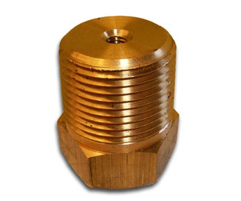 "SP-250 Sentinel Brass Plug 1/4"" NPT"
