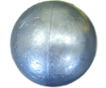 "3.5"" Zinc 6  PDR Cannon-Mortar Ball"