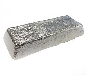 Alloy AC Casting Pewter Ingot (92% Tin,7.75% Sb,0.25% Cu) Britannia - 563F - 650F