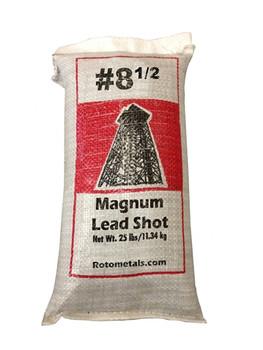 "Magnum Lead Shot #8.5 .085"" bag/25 lbs."