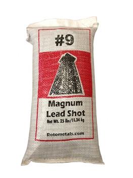 "Magnum Lead Shot #9 .08"" bag/25 lbs."