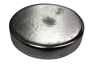 "Zinc Disc 9"" Diameter x 1"" Thick"