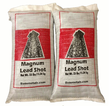 West Coast Magnum Shot Lead (2-25) Bags 50 lbs Size 4-9 - Freight Included