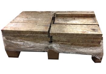 Pallet Bismuth Ingots 99.99%  1000 Pounds $5.99 per pound