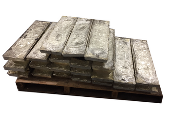 Pallet Tin Virgin Ingots 99.9%  1000 Pounds $10.99 per pound