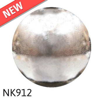 "NK912 - Nickel Plated High Dome - Head Size:7/16"" Nail Length:1/2"" - 1000 per box"