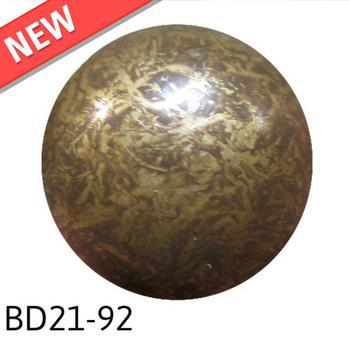 "BD21-92 - Sandstone High Dome - Head Size:13/16"" Nail Length:5/8"" - 160 per box"