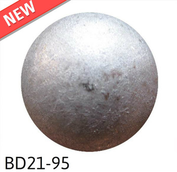 "BD21-95 - Pewter High Dome -  Head Size:13/16"" Nail Length:5/8"" - 40 per box"