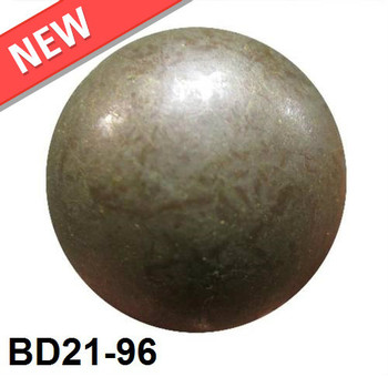 "Overstock BD21-96 - Clayverde High Dome - Head Size:13/16"" Nail Length:5/8"" - 160 per box"