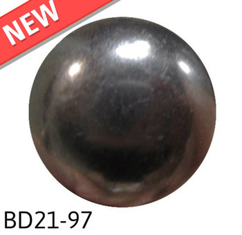 "BD21-97 - Smoke High Dome - Head Size:13/16"" Nail Length:5/8"" - 160 per box"