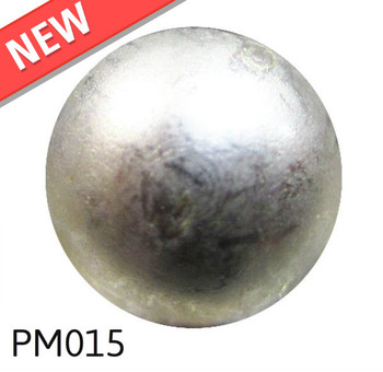 """PM015 - Glazed Pewter High Dome - Head Size:3/8"""" Nail Length:1/2"""" - 1000 per box"""