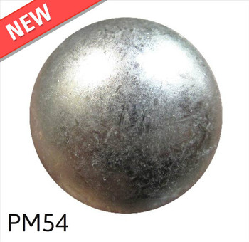 "PM54 - Glazed Pewter Low Dome - Head Size:5/8"" Nail Length:5/8"" - 500 per box"