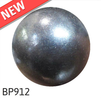 "BP912 - Black Pearl High Dome - Size:7/16"" Nail Length:1/2"" - 1000 per box"