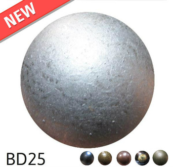"BD25 - High Dome - Head Size:1"" Nail Length:5/8"" - 100 per box"