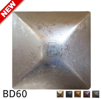 "BD60 - Square Nail Head Size: 1.125"" Nail Length: 3/4"" - 25 per box"