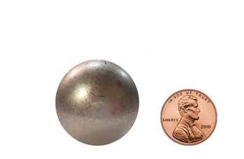"""BD31 - Circular Low Dome Nail - Head Size: 1 1/4"""" Nail Length: 7/8"""" - 50 per box"""