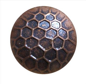 """BD87-87 - Circular Nail with Honeycomb Detail  - Head Size: 7/8"""" Nail Length: 5/8"""" - 150 per box"""