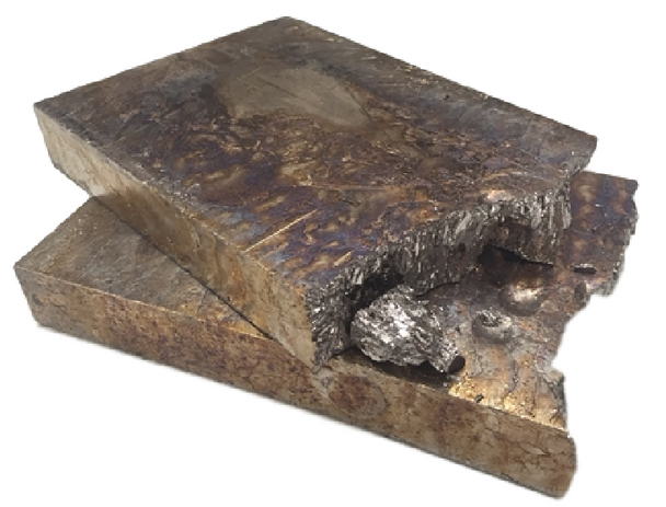 Bismuth Ingot Slab 50 Pounds 99.99% Pure
