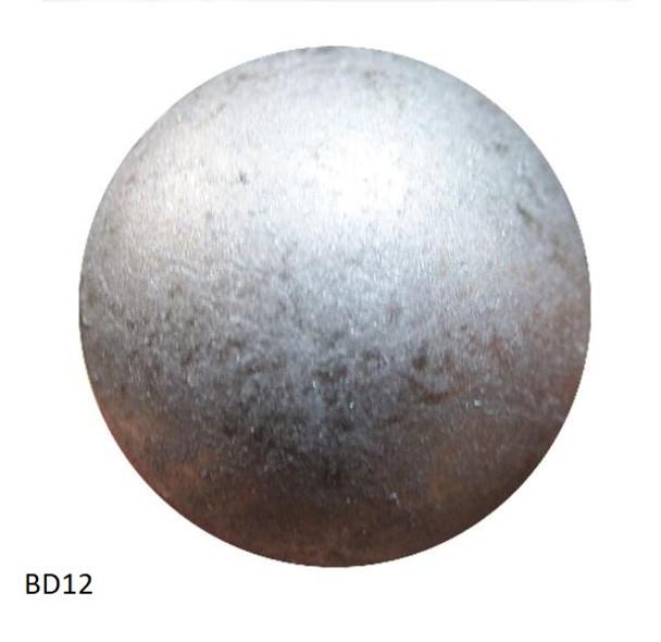 "BD12 - High Dome Nail - Head Size: 7/16"" Nail Length: 1/2"" - 500 per box"
