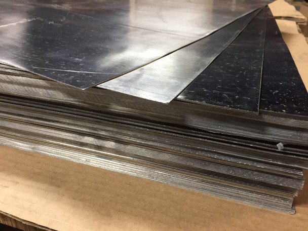 """Roof Flashing 1/16"""" Lead Sheet 36"""" x 36"""" 35 Sheets - Freight Included"""