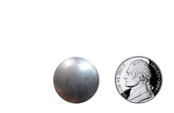 "PQ52 - Antique Pewter High Dome Nail - Head Size:13/16"" Nail Length:5/8"" 250 per box"
